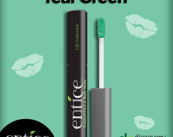Entice Teal Green Lip Stain
