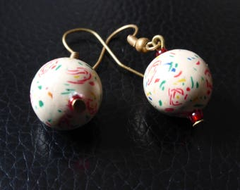 Earrings romantic vintage