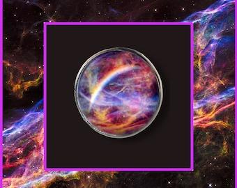 Veil Nebula Brooch/Pin