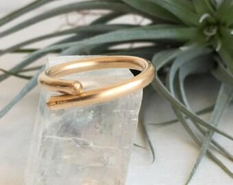 14k Gold Filled Sculptural Ring