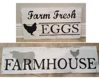 Farmhouse and Farm Fresh Eggs