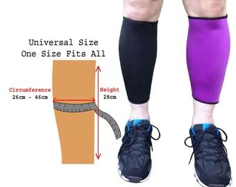 LTG Neoprene Adjustable Compression Calf Support Sleeve Shin Splints Muscle Pain