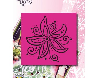 Grid Nellie Christmas flower 9 x 9 cm_LD007