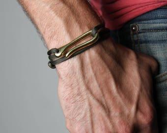 Paracord Bracelet, Bracelet for Men, Mens Jewelry, Gift for Men, Men's Jewelry,  Boyfriend Gift, Men's Bracelet, Paracord Bracelet Survival