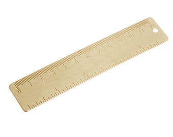 Brass Metal Ruler - PJ012