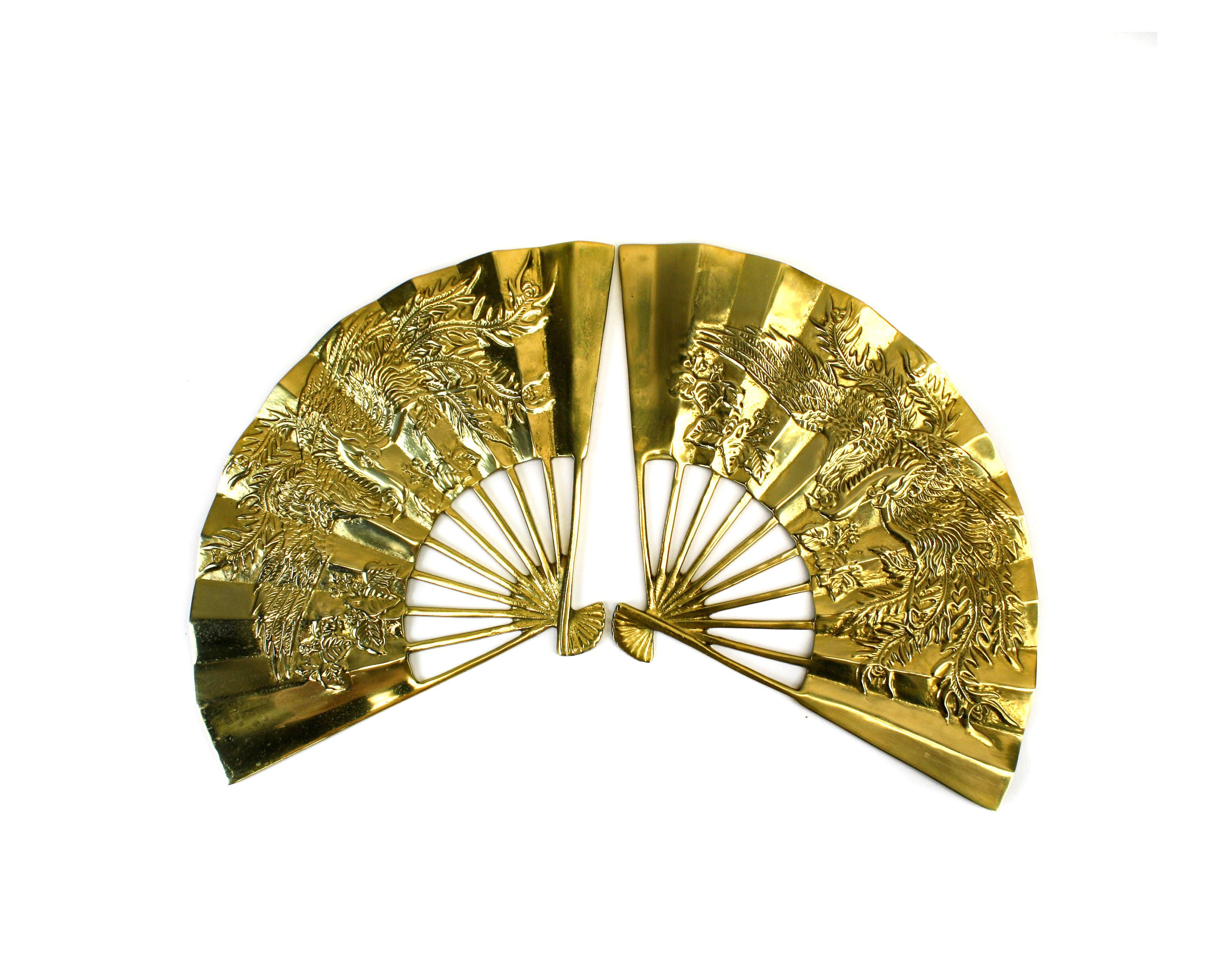 Fancy Hand Fan Wall Decor Mold - The Wall Art Decorations ...
