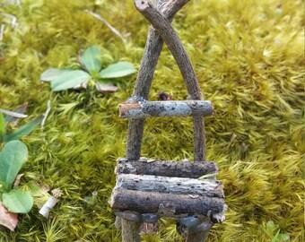 Miniture Fairy Garden Sitting Chair