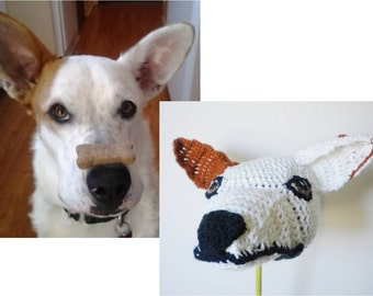 Design Your Own Dog Hat for Pet Owners - Send a Photo of Your Dog & Get a Crochet Hat - Customized Pet Hats