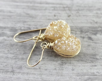 Boho Earrings, Boho Jewelry, Girlfriend Gift, Boho, Jewelry, Bohemian Jewelry, Drop Earrings, Dangle Earrings, Wire Wrapped Jewelry