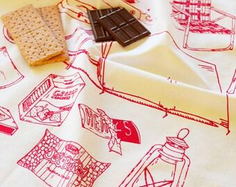 Tea Towel - Kitchen Towels - Organic Tea Towel - Tea Towel Set - Tea Towel Flour Sack - Dish Towels - Camping Tea Towel - Flour Sack Towels