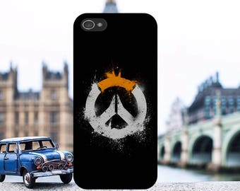Overwatch Computer Game Logo Art Phone Case Cover Fits iPhone and Samsung models