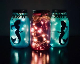 Mermaid Fairy Lanterns