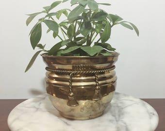 Brass Planter || Brass Pot Holder || Brass Gardening