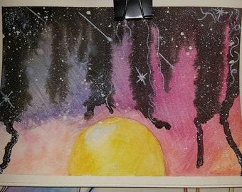 Setting stars