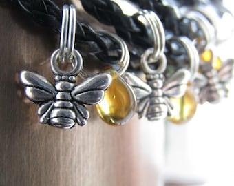 BEE Bracelet - HONEY bracelet  Bee Jewellery Nature Bracelet - honey bee bracelet save the bees valentines gift bee gift minimalist bracelet