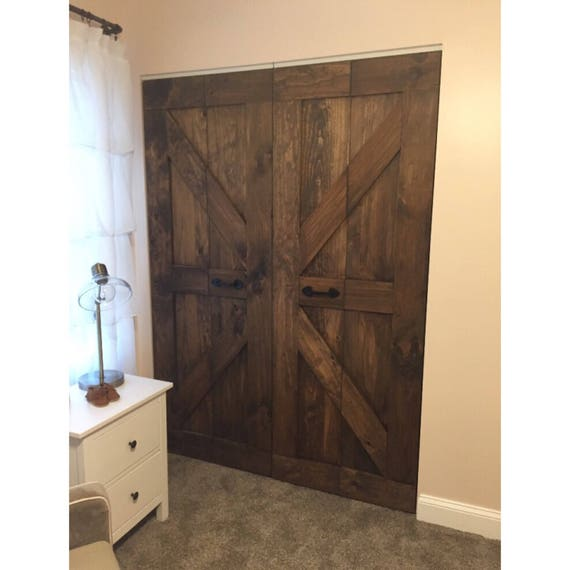 Hinged Bi Fold Pantry Doors By Rustic Luxe British Brace