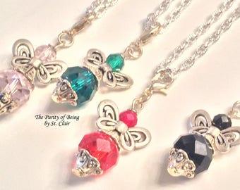 Angels guide your way Angel Charm, Angel Necklace, Angel Charm, Guardian Angel, Angel Jewelry, Angel guidance, Heavenly Helper