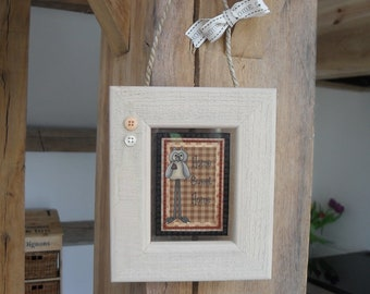 Floating Glass Frame, Home Sweet Home Plaque, Country Style Home Decor, Wall Hanger