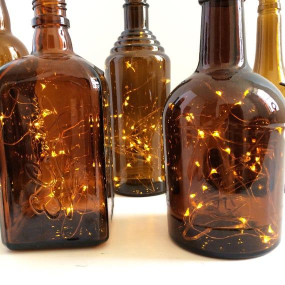 Liquor Bottle Centerpieces
