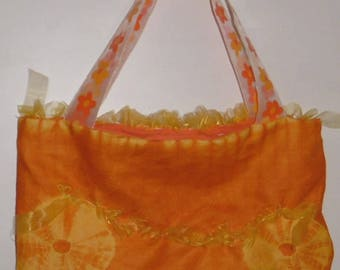 TOILET purse or bag colors yellow orange