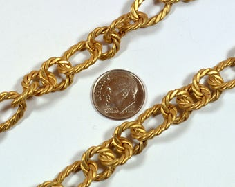 Large Rope Chain - Matte Gold - CH84-MG - Choose Your Length
