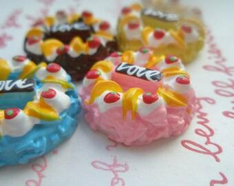 sale LOVE whole cake Set A 4pcs