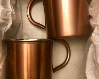 Customizable Moscow Mule Style Mugs