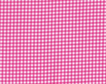 Check - Cherry Pink/White LH07008 by LakeHouse Dry Goods Cotton Fabric Yardage