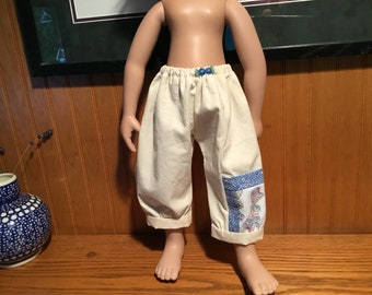 """bloomers, pants, pocket, 21"""" doll clothes, Zwergnase"""