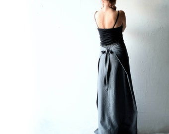 Wool skirt, Wrap skirt, Maxi Skirt, Long skirt, Pencil skirt, Grey skirt, Aline skirt, Boho skirt, Winter skirt, Maternity clothes, women