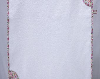 """Small towel pink """"Flower"""" - Liberty"""