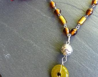 Caramel necklace