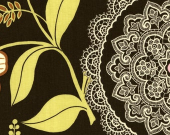 Cotton Quilting Fabric | Amy Butler fabric | Lotus Lacework Olive