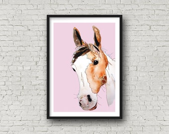 Horse - Pony - Animal Art - Print
