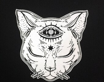 Dream Cat Patch   Patches   Punk Patches