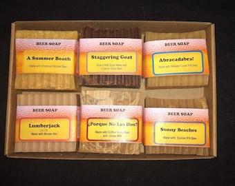 Beer Soap 6-Pack