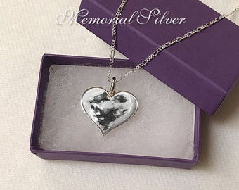 HEART PET CREMATION Pendant Cremation Ashes Necklace Pet Loss Jewelry Heart Pet Memorial Ashes Necklace Pet Loss Jewelry Pet Cremation Ashes