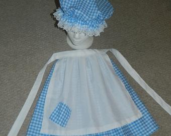 Little miss muffet, little bo peep, world book day, costume, fancy dress, hand made
