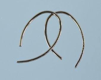 Niobium earrings: Mini-Marquise