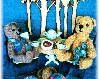 Crocheted Teddy Bears Collection of Patterns by Noreen Crone-Findlay