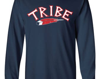 Tribe Feather Long-Sleeved Shirt