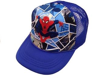 Spider Trucker Hat- Youth Size