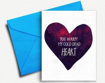 Funny Anniversary Card Girlfriend Birthday For Her Gift Him Boyfriend Valentines 1st Love