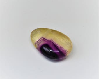 Collection 100% stone: genuine fluorite pendant