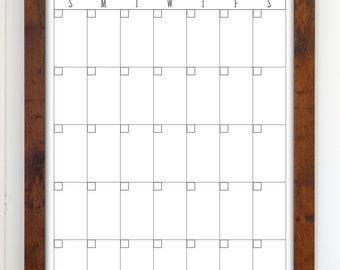 Reusable calendar | Etsy