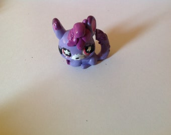 Cute lps kawaii chinchilla littlest pet shop toy gift