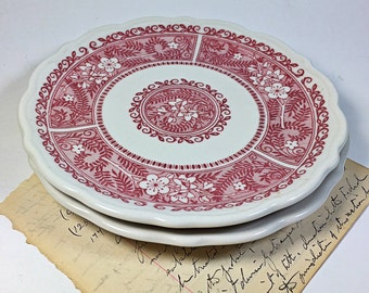 Syracuse china bread butter small Strawberry Hill plate
