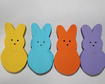 Bunny peeps chew