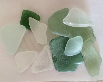 Large Sea Glass, Large Beach Glass, Bulk Sea Glass, Surf Tumbled Glass, Sea Glass for Decor, Pieces of Beach Glass