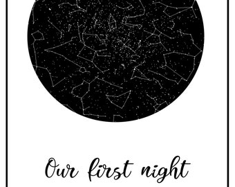 Personal - starmap white with border